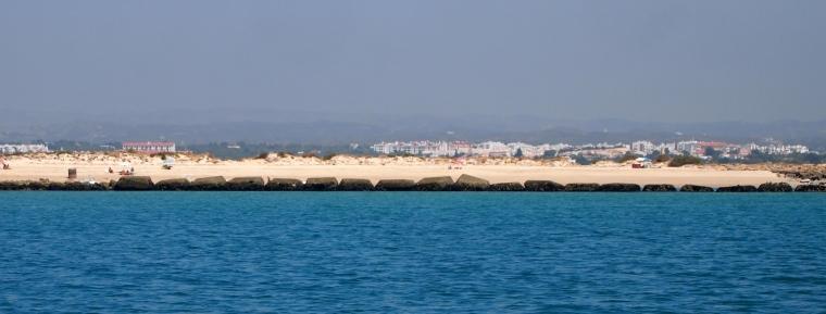 the beach of Ilha de Tavira