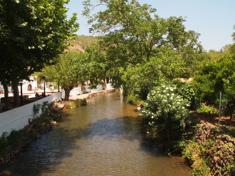 Waterway from Fonte Pequena (Little Spring)