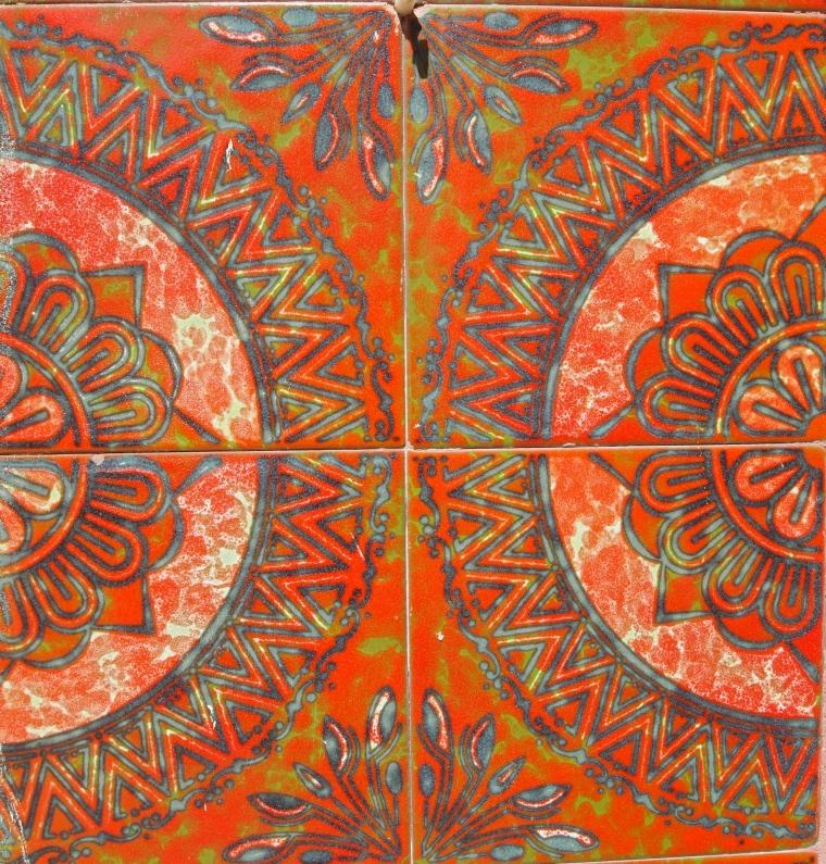 colorful Portuguese tiles