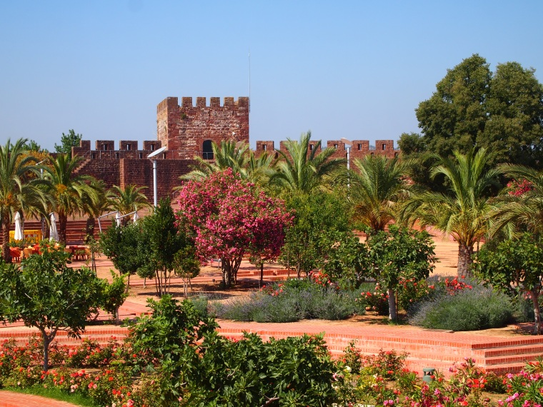 gardens in the Castelo de Silves