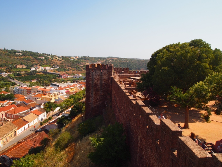 walls of Castelo de Silves