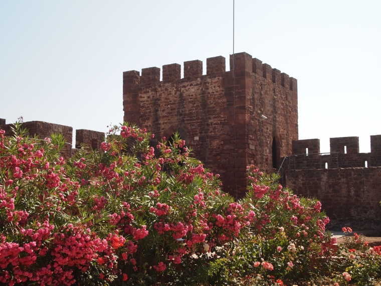 a watchtower at Castelo de Silves