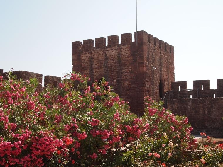 a watchtower at Castelo de Silves