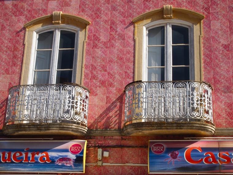 pretty Portuguese windows in Silves