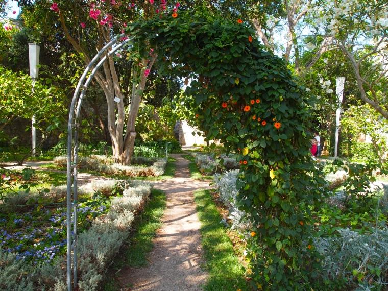 gardens at Tavira's Castelo