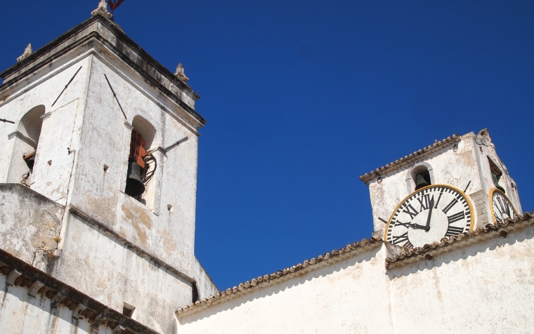 parting shots of buildings in the Old Town of Tavira