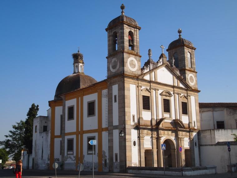 buidling in Evora