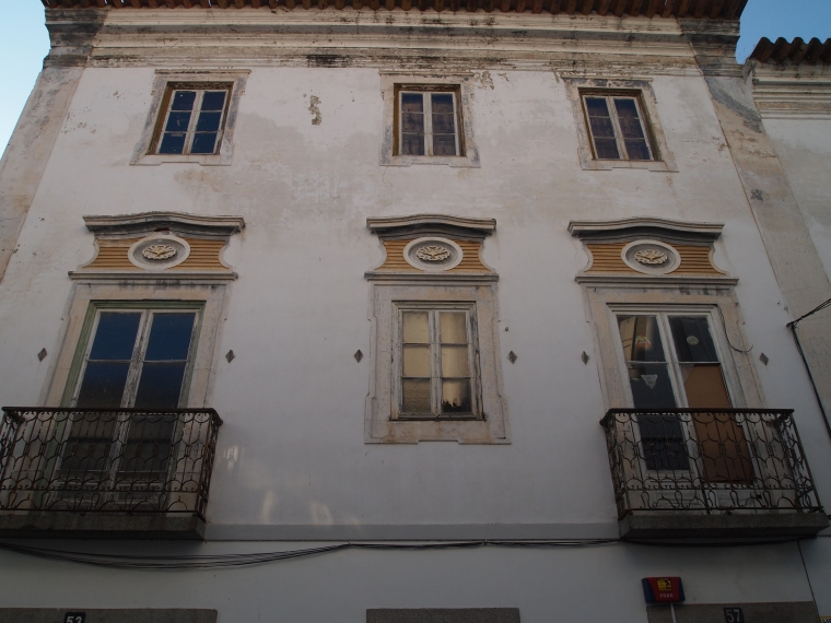 Buildings in Evora