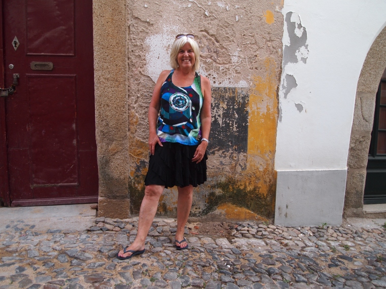 me on the streets of Evora