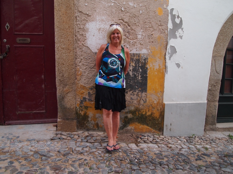me and the walls of Evora