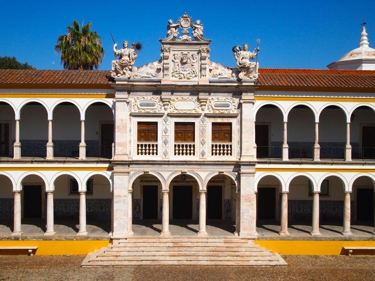 cloisters of Universidade de Evora