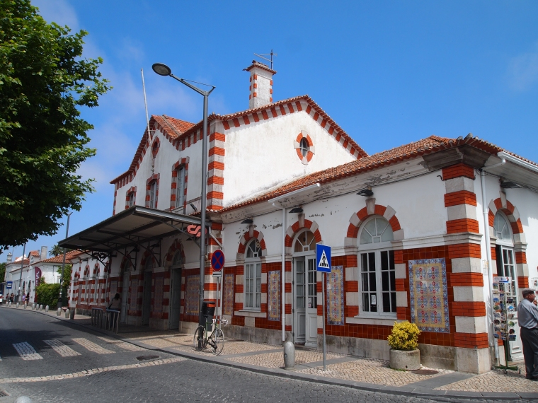 The train station in Sintra