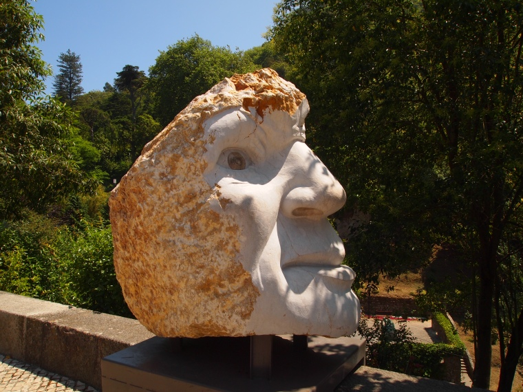 sculpture on the