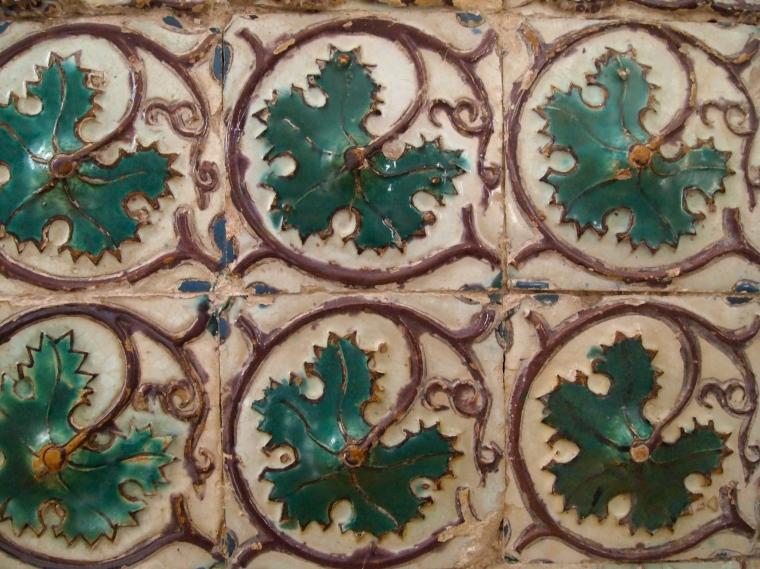tiles in Palácio Nacional de Sintra