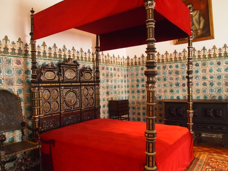 Bedroom in Palácio Nacional de Sintra
