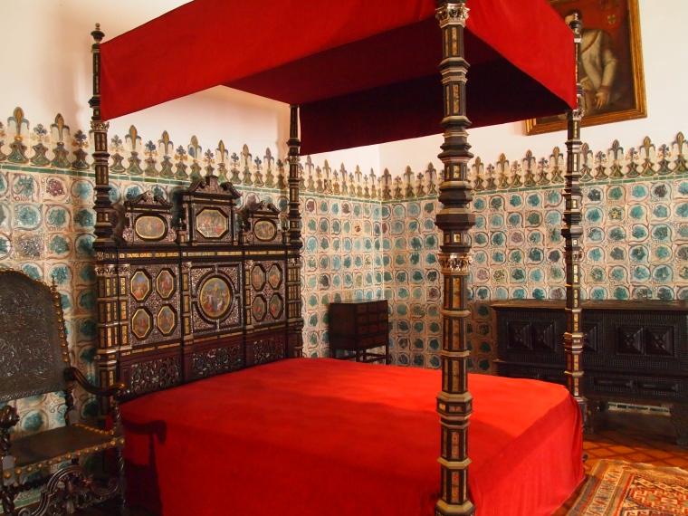 Bedroom in Palácio Nacional de Sintra
