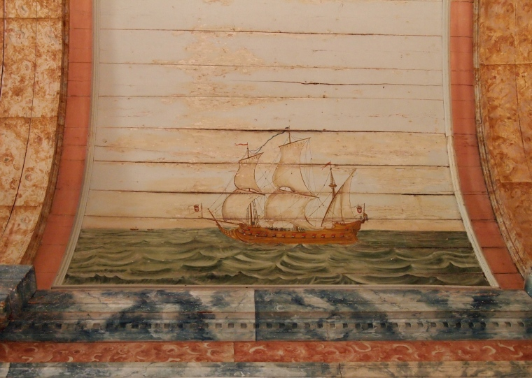 the Galleon Room at Palácio Nacional de Sintra