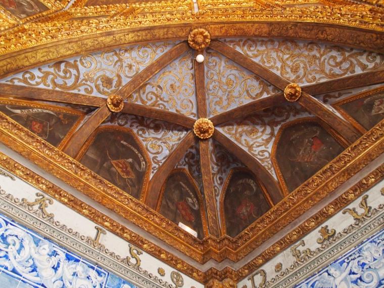 Blazons Hall at Palácio Nacional de Sintra