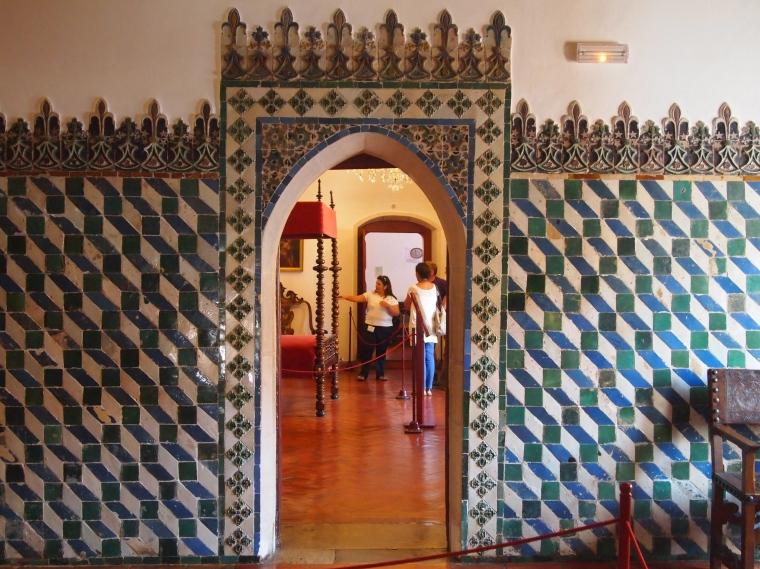 tiles at Palácio Nacional de Sintra