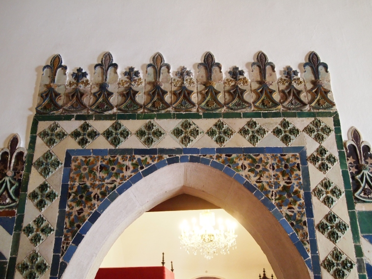 tiles at Palácio Nacional de Sintra