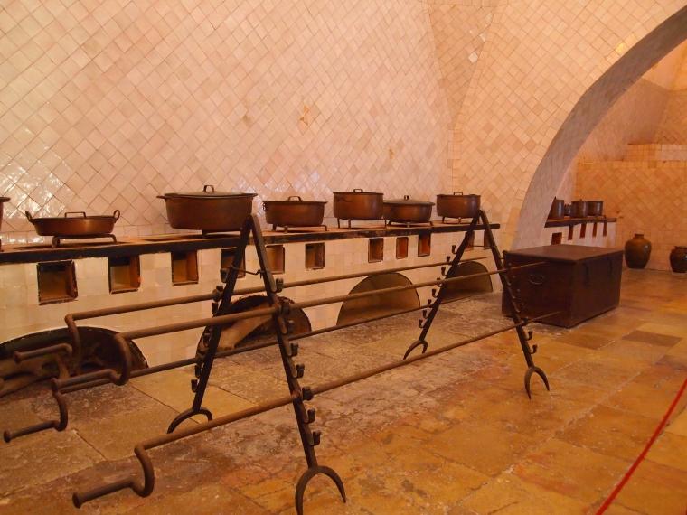 kitchen at Palácio Nacional de Sintra