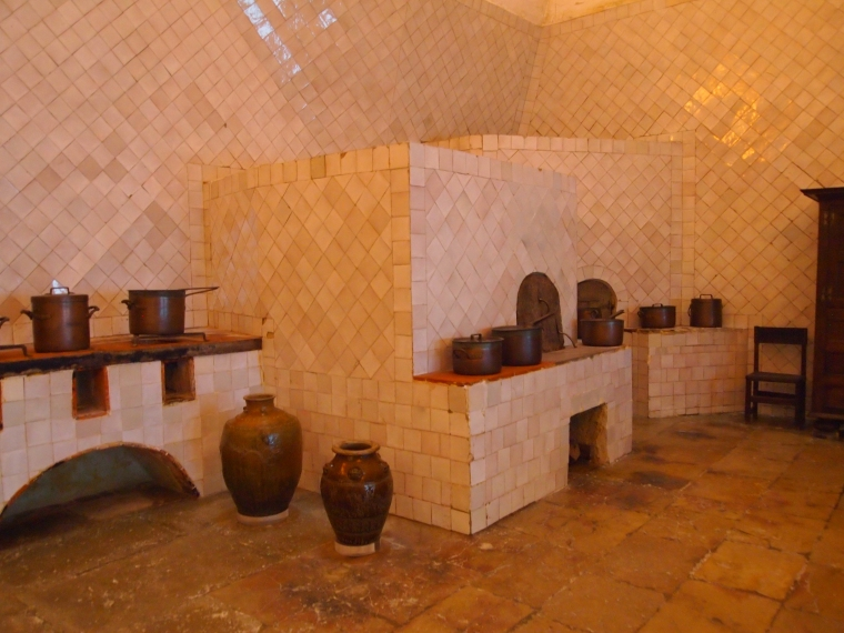 kitchen at Palácio Nacional de Sintra