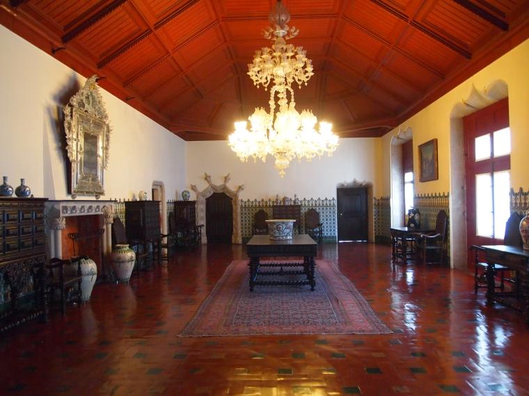 Manueline Hall at Palácio Nacional de Sintra