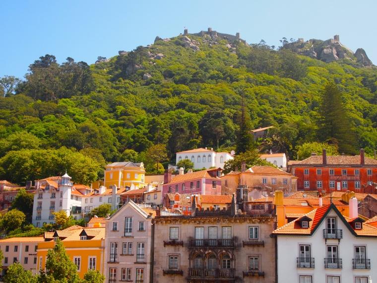 Sintra-Vila from the Palácio Nacional de Sintra