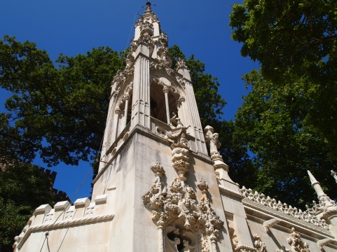 Chapel at Quinta da Regaleira in Sintra