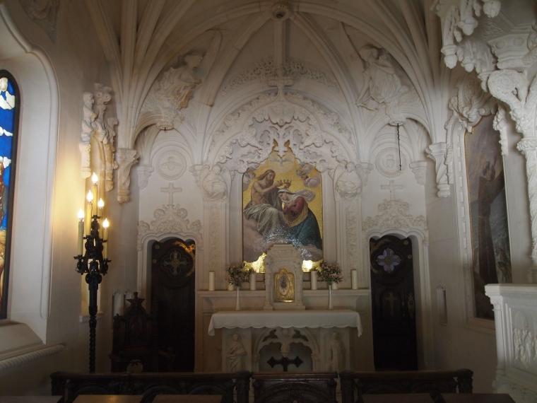 Inside the Chapel at Quinta da Regaleira