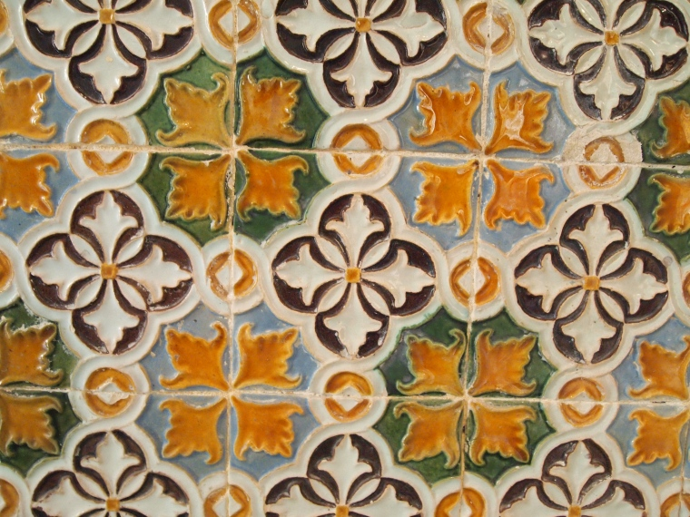 Tiles in the Main House
