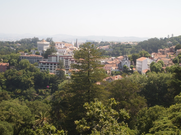 view of Sintra-Vila from the Main House