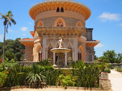 Palace of Monserrate in Sintra, Portugal