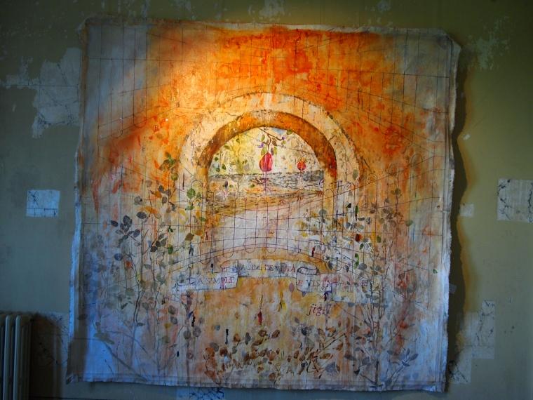 artwork at Palace of Monserrate