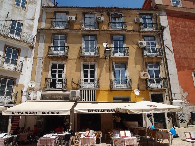 restaurant in Lisbon