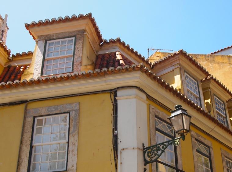 rooftops in Alfama