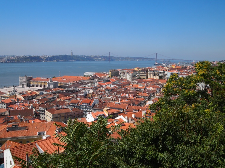 views near Castle of São Jorge