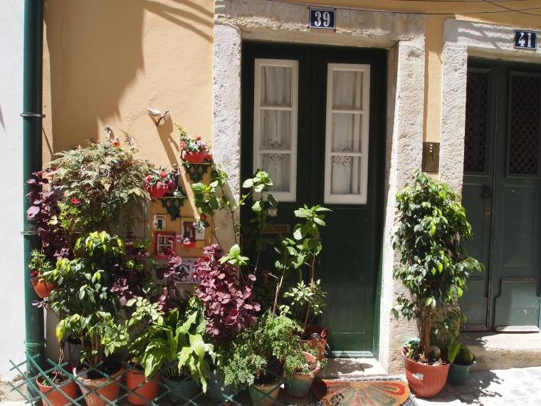 an inviting doorway