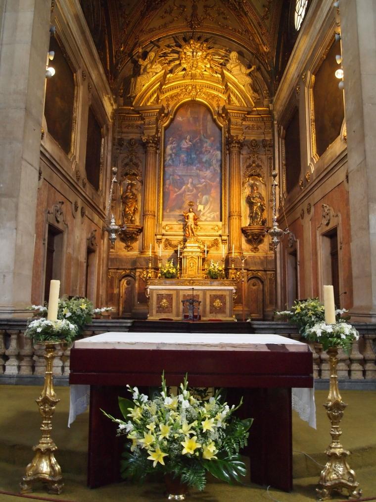 a beautiful church in Alfama