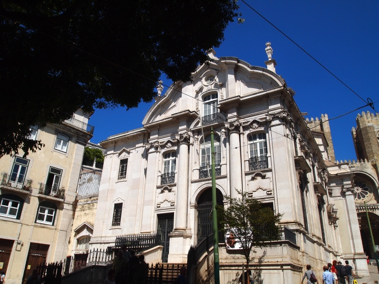a building in Alfama