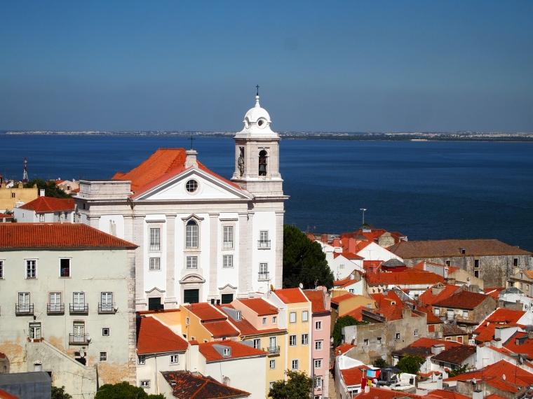 view from Miradouro of Santa Luzia
