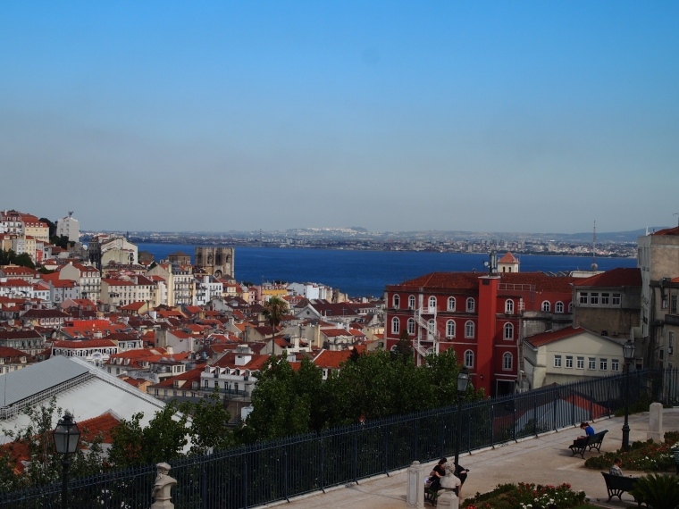 view from Miradouro São Pedro de Alcântara