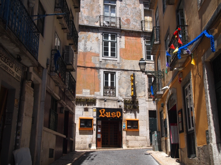 Luso ~ where I go to hear fado tonight