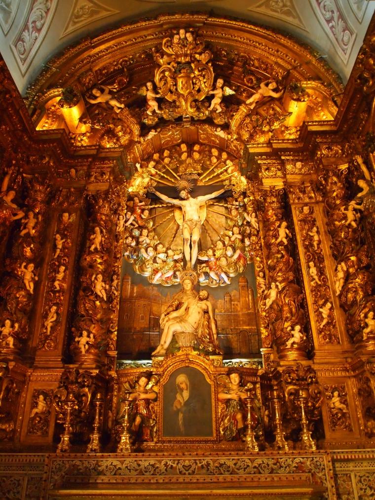 Inside the Igreja de São Roque (Church of Saint Roch) in Lisbon