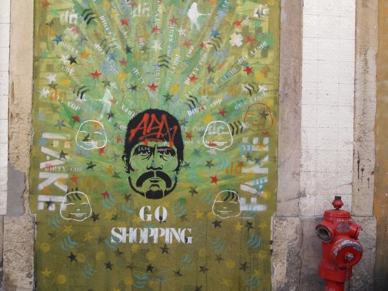 Street art in Bairro Alto