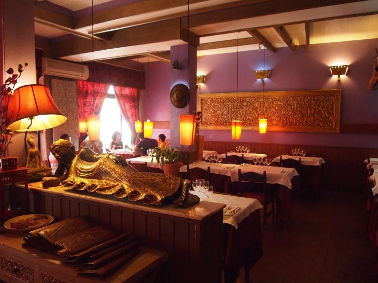 Inside Bangkok Restaurante