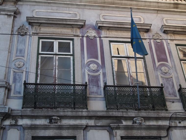 Lisbon balcony