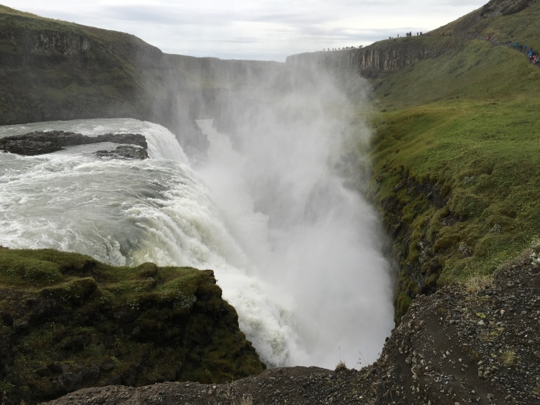 Gullfoss and its mighty mist
