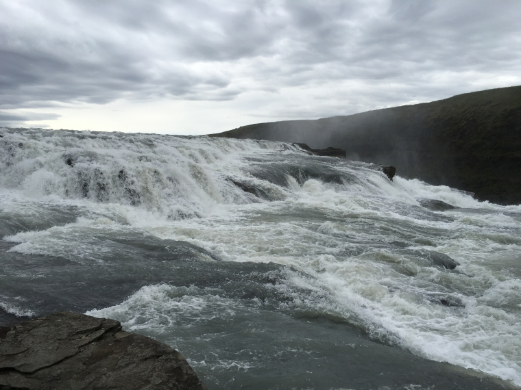 from the top of Gullfoss