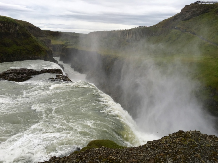 Gullfoss - the second drop